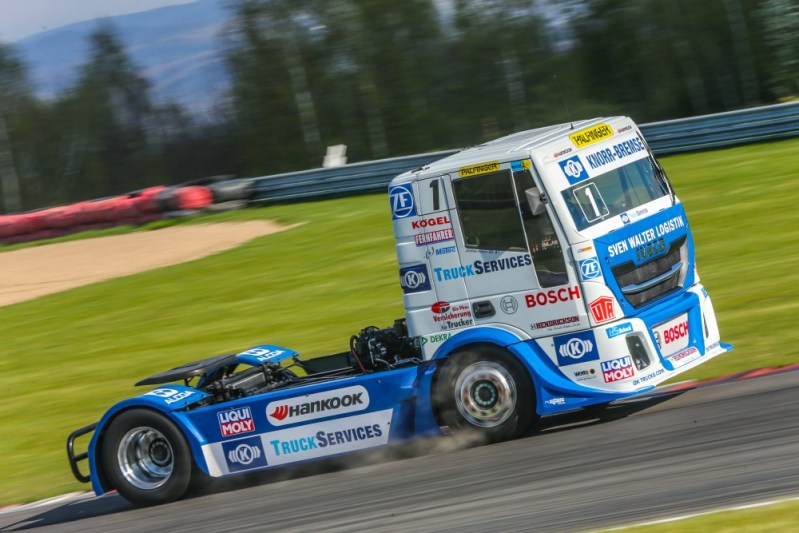 Liqui Moly is supporting the Hahn Racing Team in its FIA European Truck Racing Championship title defence