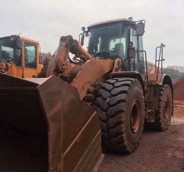 The Magna MA08 is designed for use on wheel loaders, dozers, and graders requiring maximum traction