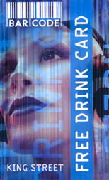 BarCode Free Drink Card