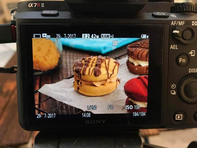 Photographing Cookies