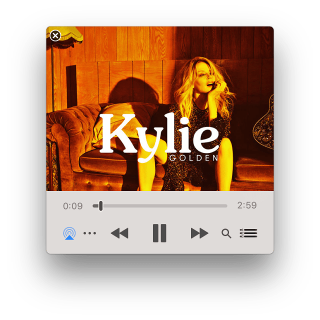 Kylie Minogue's Golden