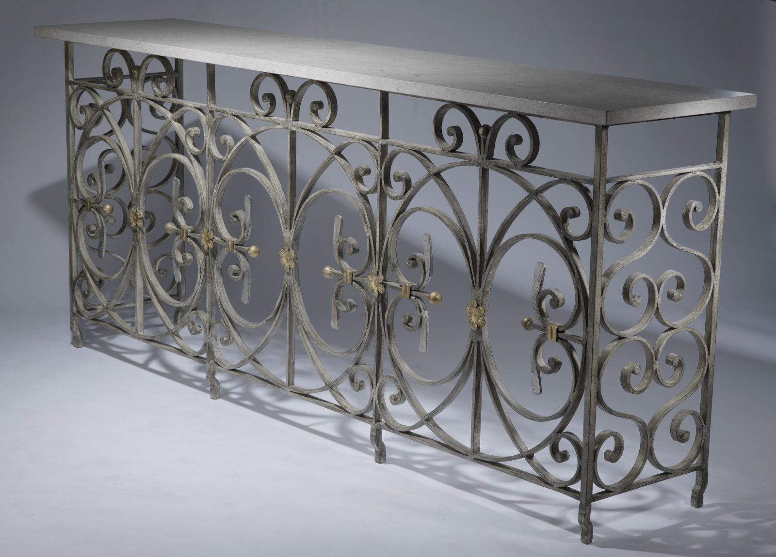 wrought iron sofa set online southern 25221 39circle 39 console table available in brown