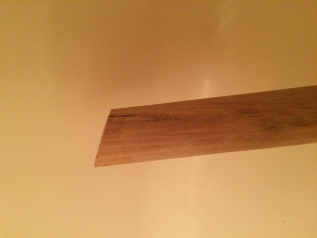 Post-sanding and cutting