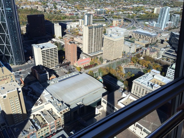 downtown Calgary from the tower