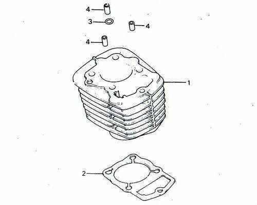 TLR200 Cylinder Parts