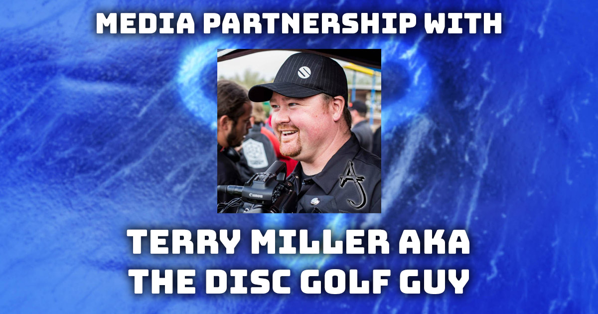 Media partnership with Terry Miller AKA The Disc Golf Guy : FPO post production and live show