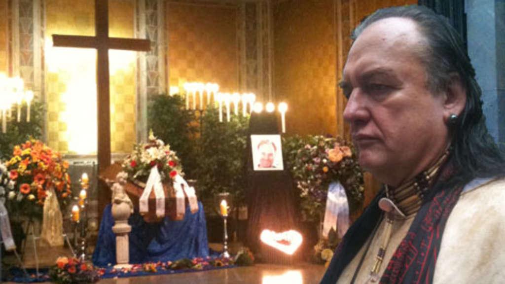 IsarDrama Abschiedsfeier mit Willy Michl fr den ertrunkenen Vater Karl D  Stadt