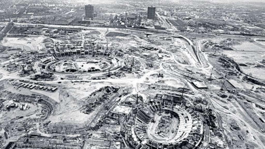 Mnchen vor Olympia 1972 die grte Baustelle Europas  Stadt