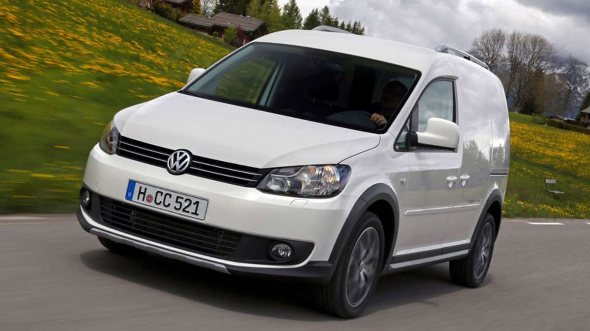 Volkswagen peppt den Cross Caddy mit stylischem Design und