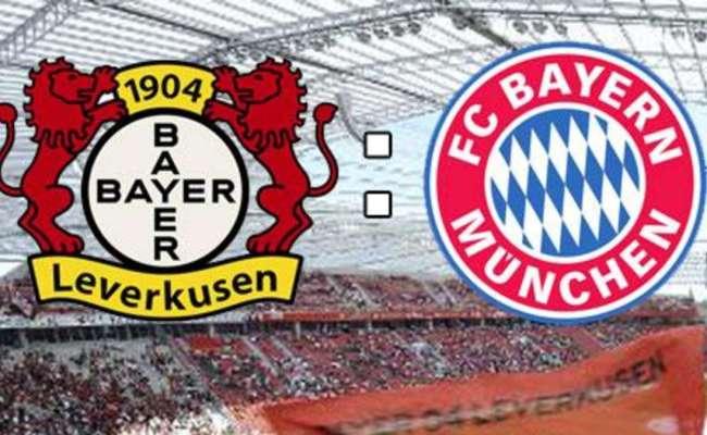 Bundesliga Bayer 04 Leverkusen Gegen Fc Bayern München