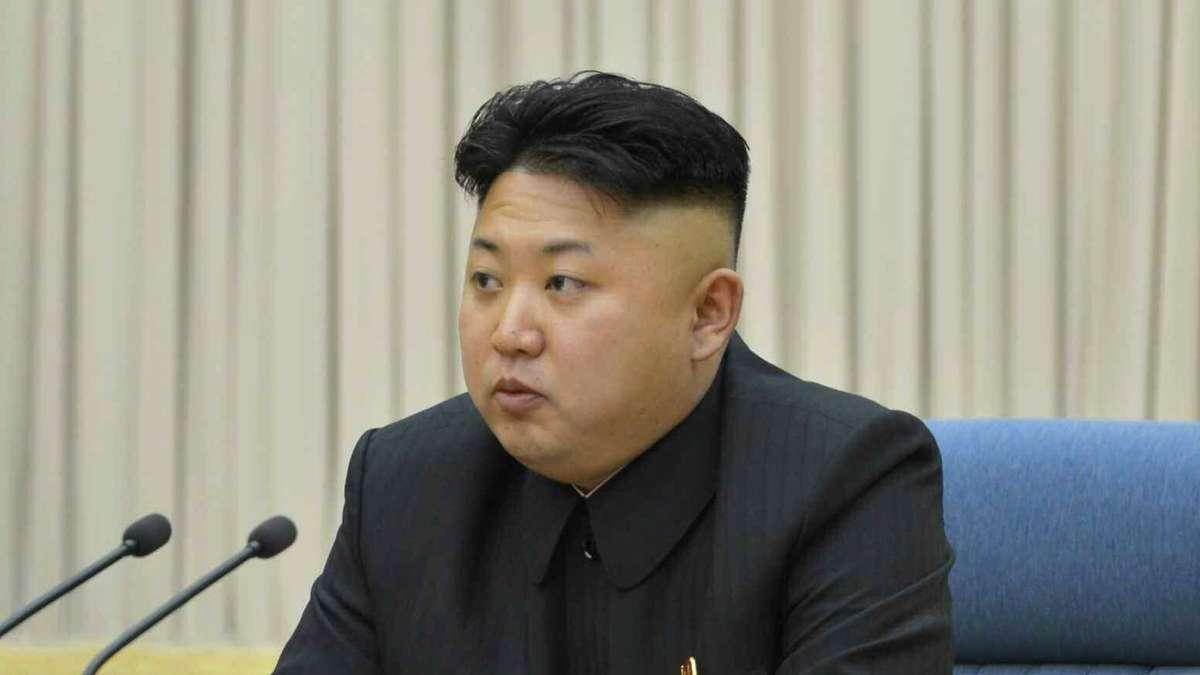 Frisur Kim Jong Un  trendige kurzhaarfrisuren
