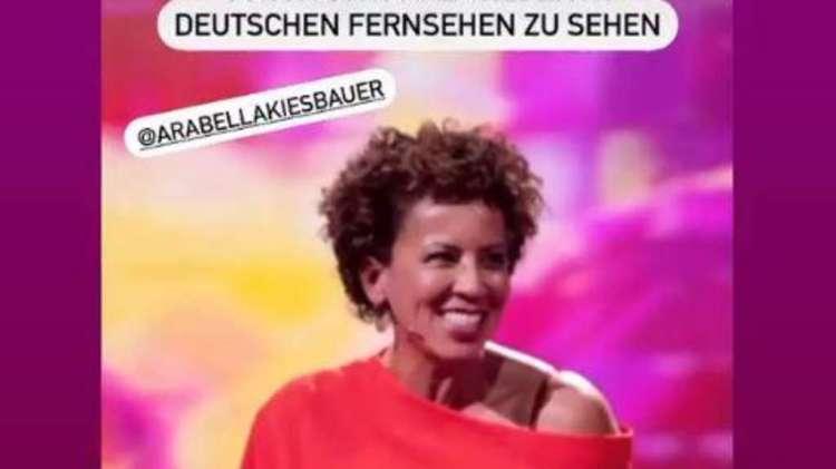"""Moderatorin Arabella Kiesbauer wird zu Gast in der TV-Show """"Klein gegen Groß"""" sein"""