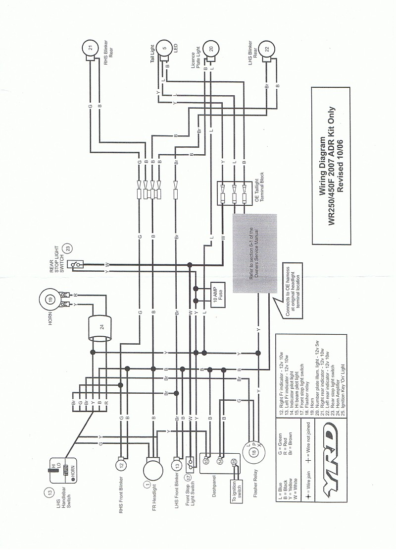 medium resolution of ttr125 wiring diagram modern design of wiring diagram u2022 warrior 350 wiring diagram ttr125 wiring diagram