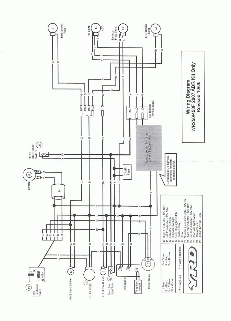 hight resolution of ttr125 wiring diagram modern design of wiring diagram u2022 warrior 350 wiring diagram ttr125 wiring diagram