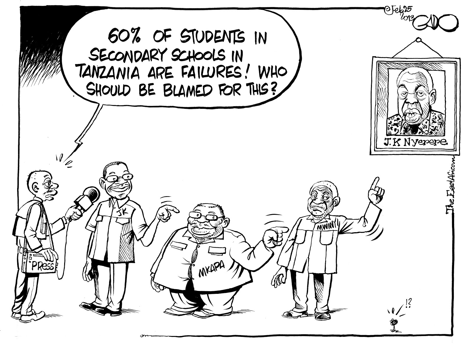 Tanzanian Affairs » EXAM RESULTS BOMBSHELL