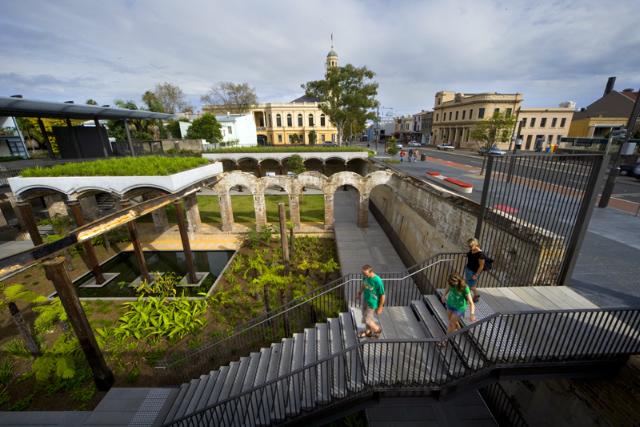 Paddington Reservoir Gardens  Tonkin Zulaikha Greer Architects
