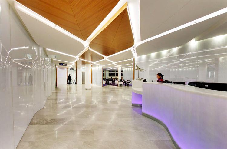 Virgin Australia Lounge Sydney  Tonkin Zulaikha Greer Architects