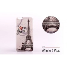 Backcase θήκη με σχέδιο Love Paris για iPhone 6 Plus/6S Plus - 2268 - OEM