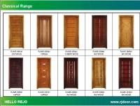wood bedroom door