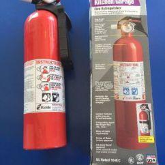 Kidde Kitchen Fire Extinguisher Red Trash Can Case Of 6 10 B C Garage 2lb 12oz