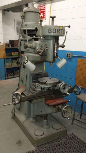 Gorton 8 1 2 D Mill