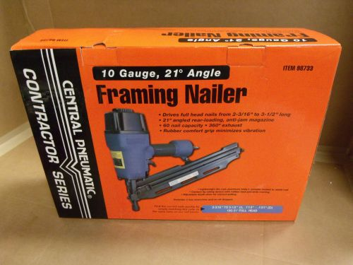 Central Pneumatic Framing Nailer