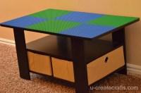 Turn a Coffee Table into a LEGO Table - U Create
