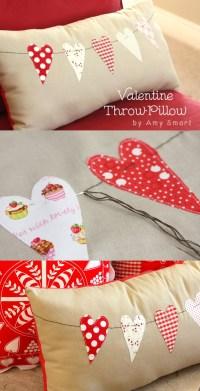 Valentine Throw Pillow Tutorial - U Create