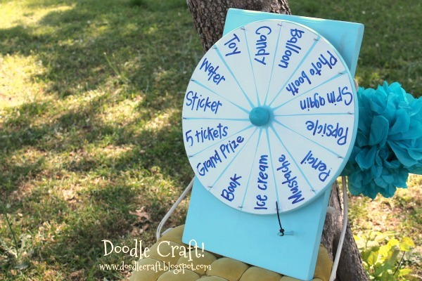Prize Wheel Flapper Diy