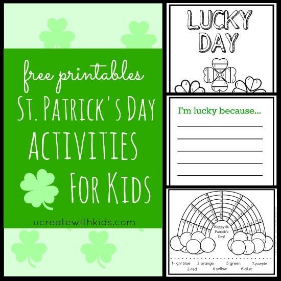 Patricks Day Craft Printable