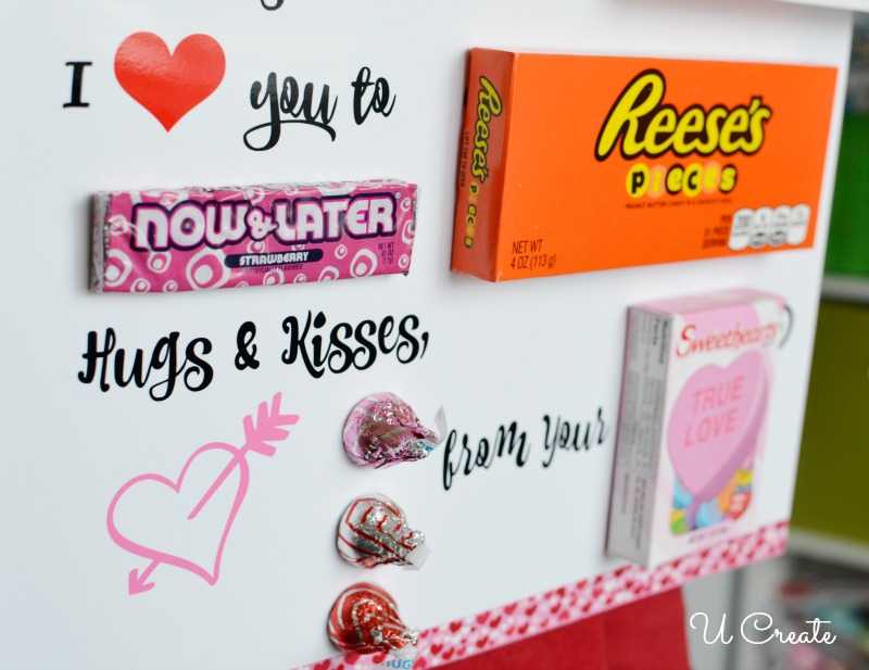 Candy Poster Valentine Printable U Create
