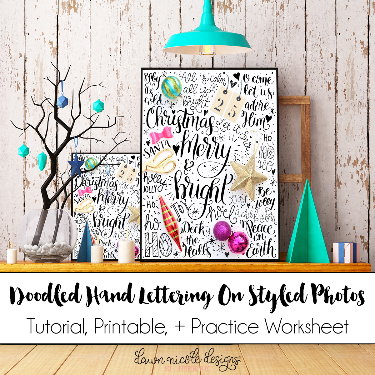 Free Hand Lettering Printables