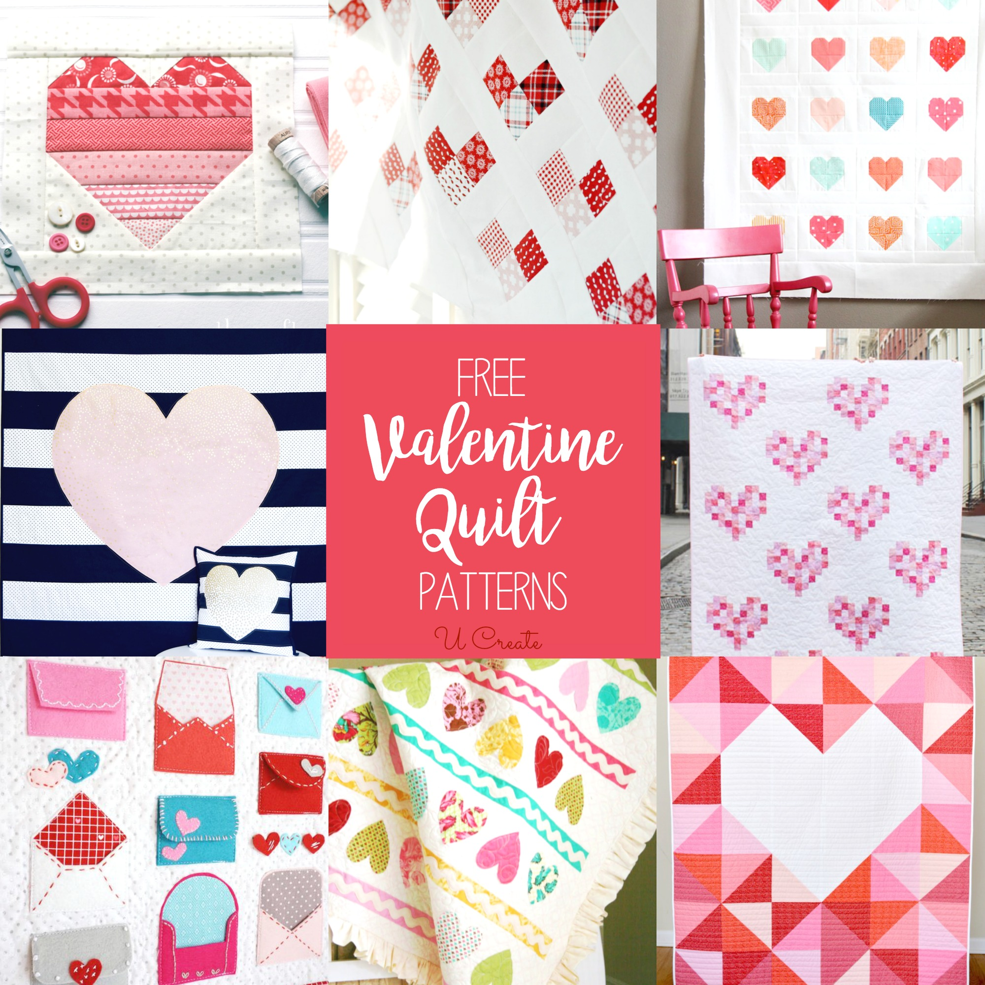 Free Valentine Quilt Patterns