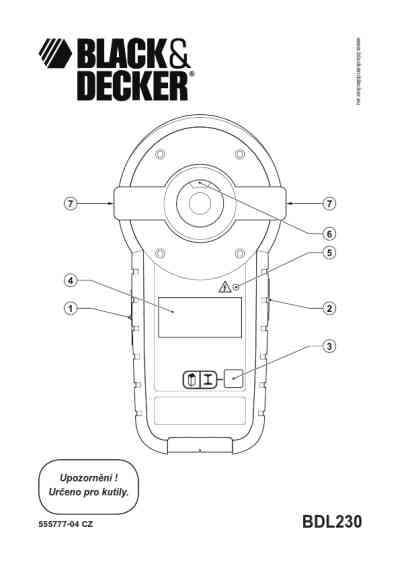 BLACK-DECKER BDL230S Tools download manual for free now