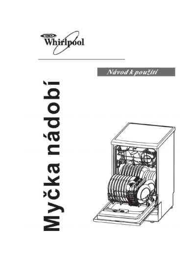 WHIRLPOOL ADP 550 WH Dishwasher download manual for free