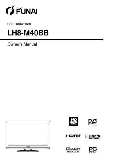 FUNAI LT7-M19BB TV/ Television download manual for free