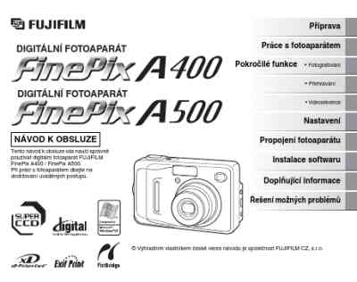 FUJIFILM FUJI FINEPIX A 500 The camera/ Camera download