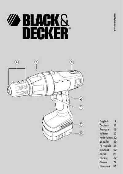 BLACK DECKER PS 122 KB Tools download manual for free now