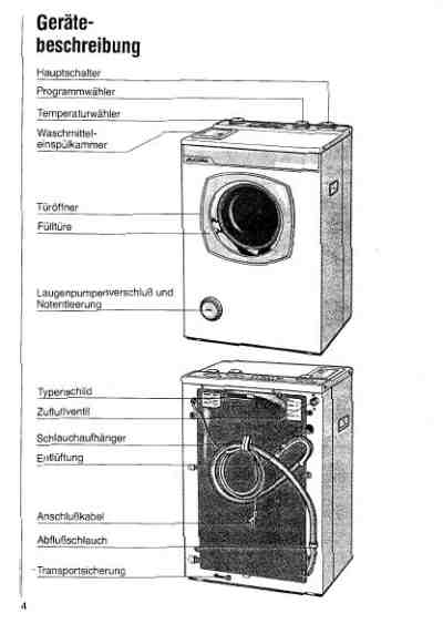 EUDORA EU 443 Washing machine download manual for free now
