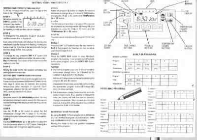 HONEYWELL CM51 Central heating download manual for free