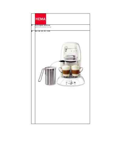 HEMA 80007108 Coffee maker download manual for free now