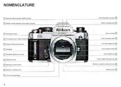 NIKON FA The camera/ Camera download manual for free now