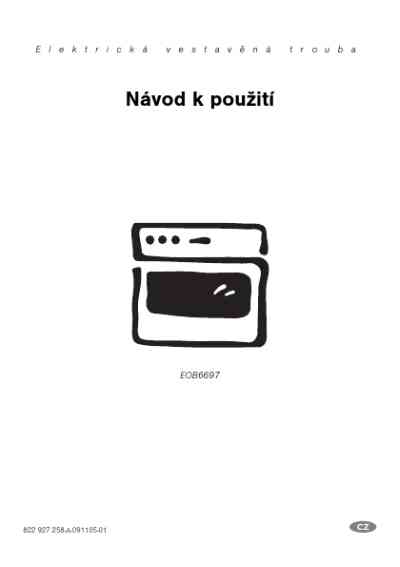 AEG-ELECTROLUX EOB6697XEUR05 Oven download manual for free