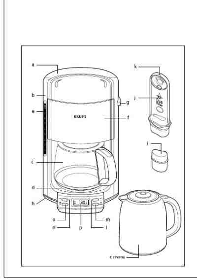 KRUPS FMD8 Coffee maker download manual for free now