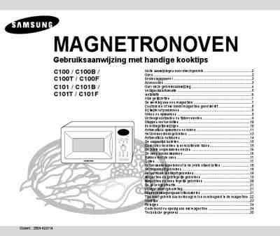 SAMSUNG C100 Microwave oven download manual for free now