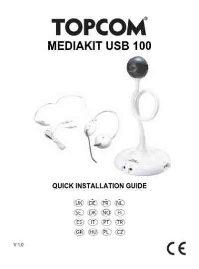 TOPCOM MEDIAKIT 100 Mobile phone download manual for free