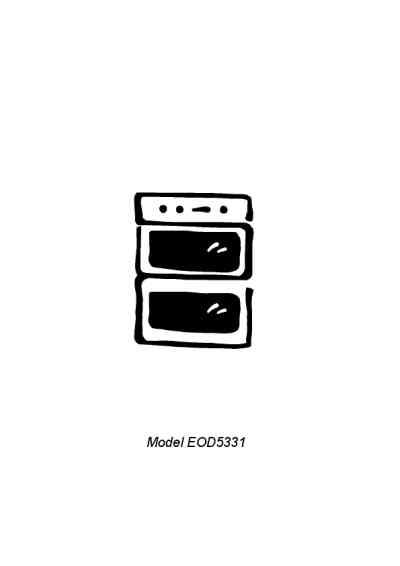 ELECTROLUX EOD5331K Oven download manual for free now