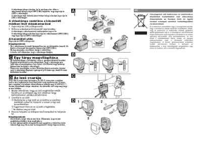 SONY HVL-HL1 Photo/ video accessories download manual for