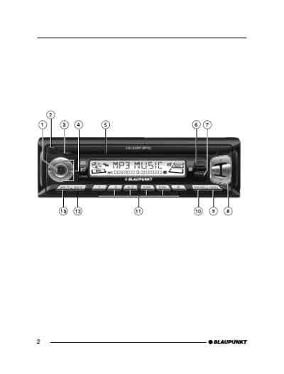 BLAUPUNKT CALGARY5 Car radio download manual for free now