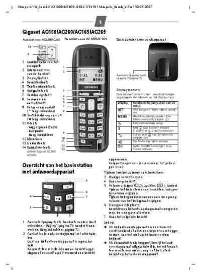 SIEMENS AC 260 Mobile phone download manual for free now
